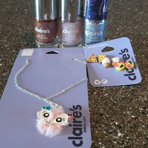 Claire's gift set